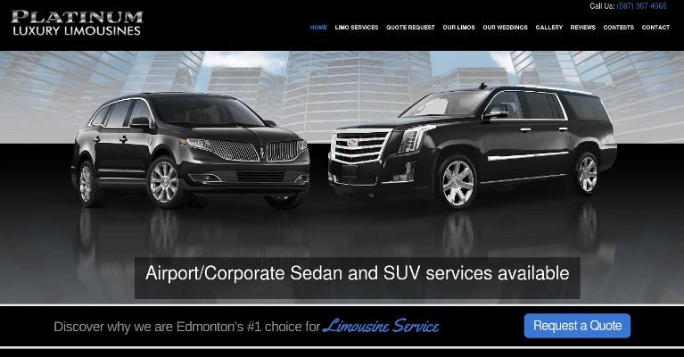 Limo Service Edmonton